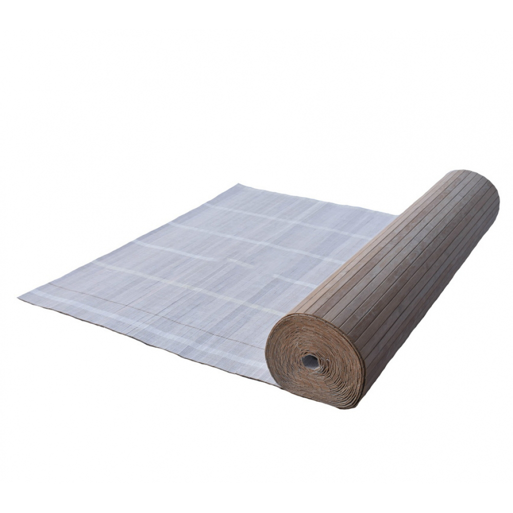 Бамбукові шпалери Сірі, полоса 17 мм. - 0,9 м
