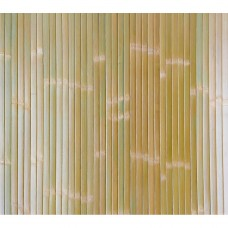 Бамбукові шпалери блідо-зелені, лак., мат., полоса 17 мм. - 1,5 м