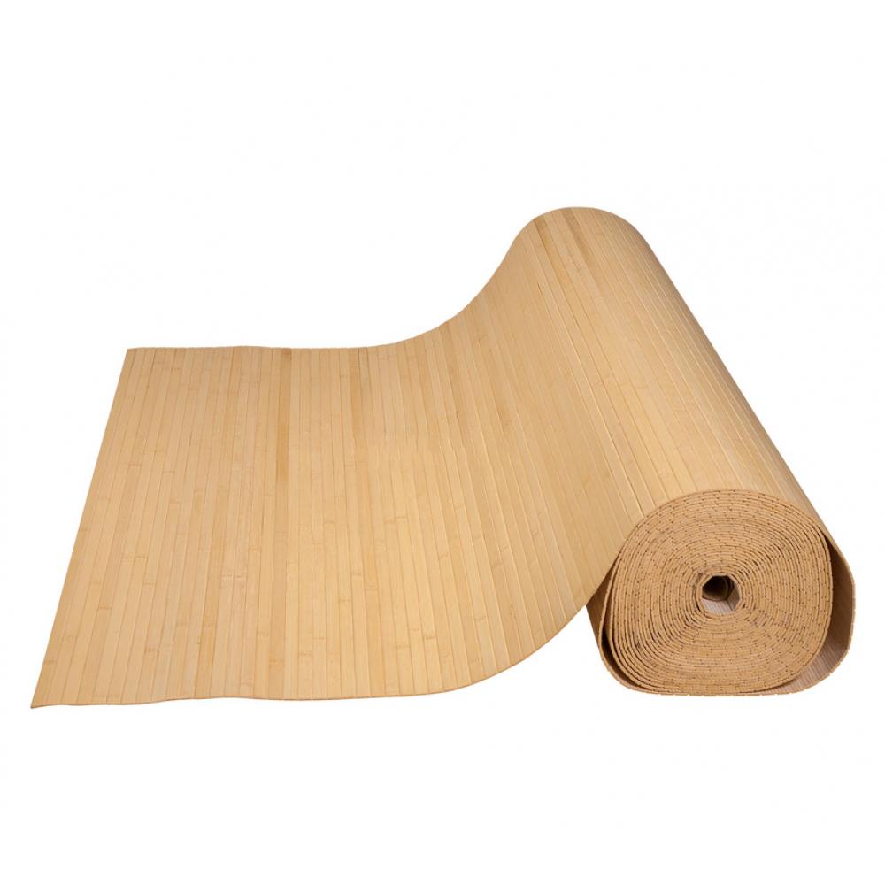 Бамбукові шпалери світлі, нелак., полоса 12 мм. - 0,9 м