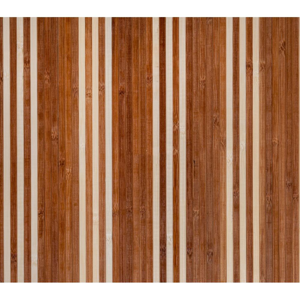 Бамбукові шпалери темно/світлі, полоса 8 (3 1) мм. - 0,9 м