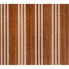 Бамбукові шпалери темно-світлі, полоса 8/8 (3 1) мм. - 0,9 м
