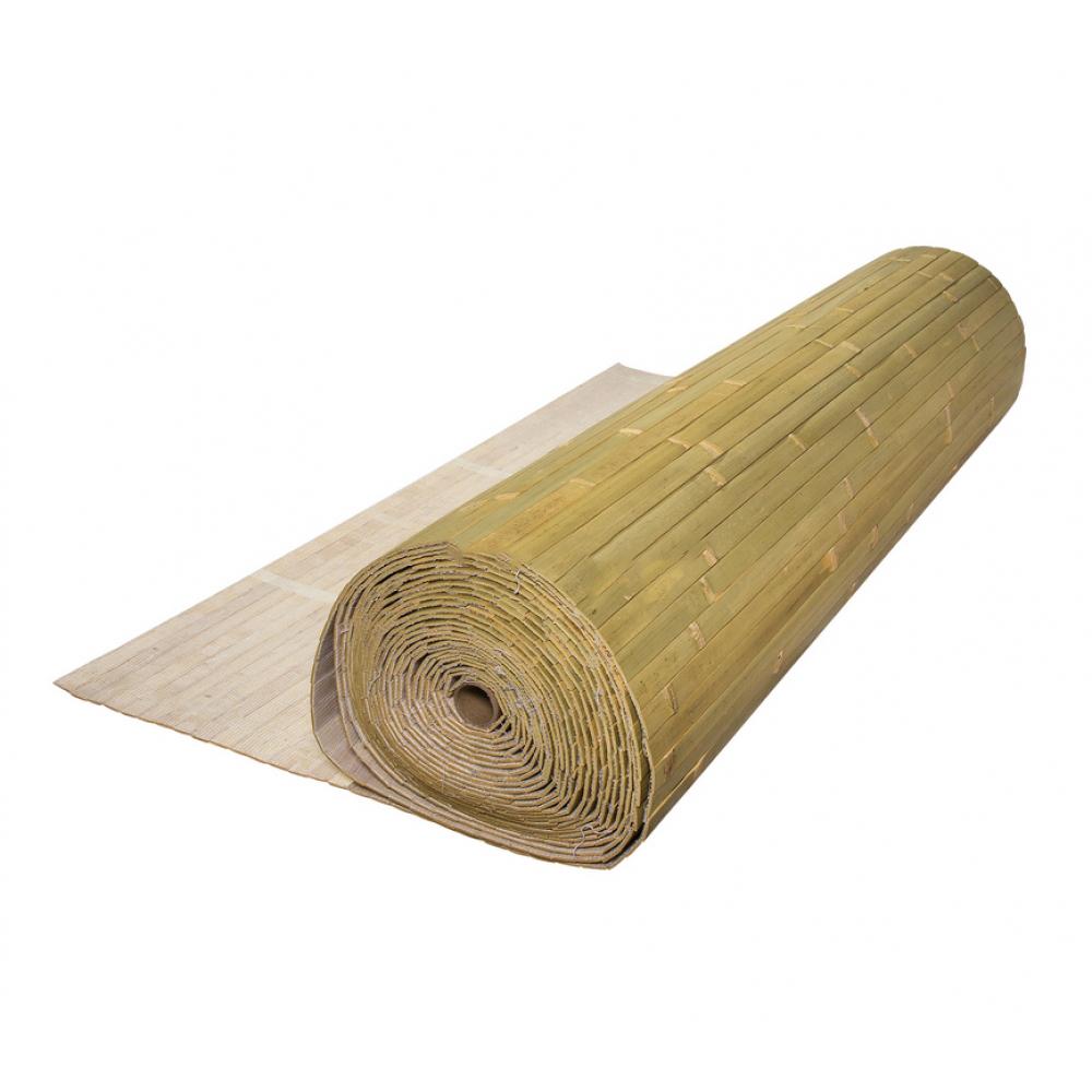 Бамбукові шпалери блідо-зелені, нелак., полоса 17 мм. - 0,9 м