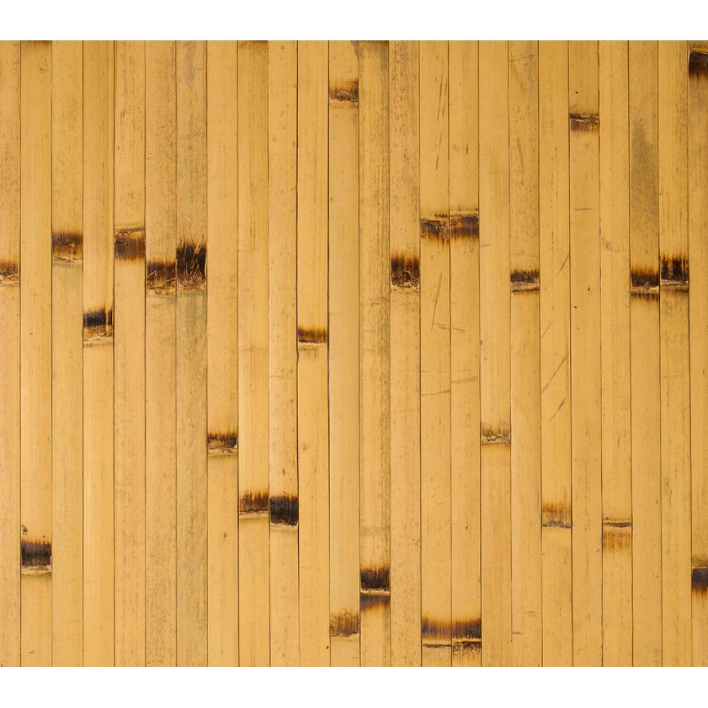 Бамбукові шпалери світлі, опалені, нелак., полоса 17 мм. - 1,5 м