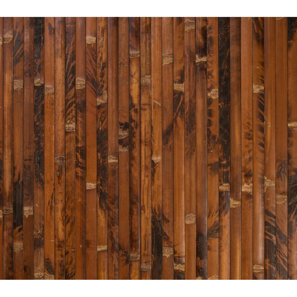 Бамбукові шпалери черепахові, темні, полоса 17 мм.  - 2,0 м