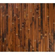 Бамбукові шпалери черепахові, темні, BW 211, полоса 17 мм.  - 0,9м