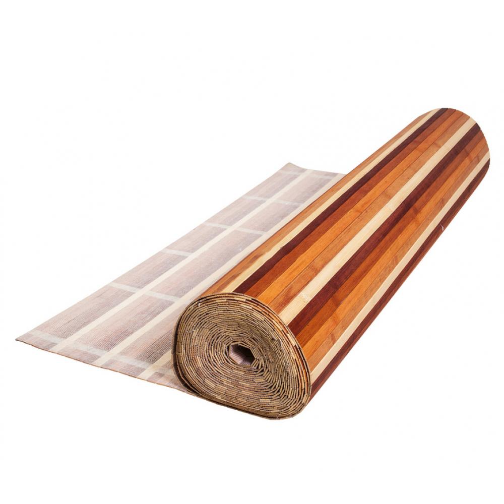"""Бамбукові шпалери """" Кольорові"""", полоса 17 мм. 0,9 м"""