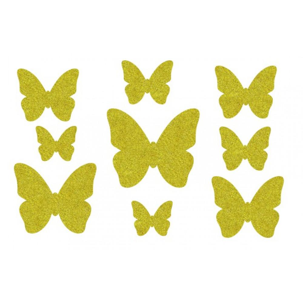 Декор з рідких шпалер Метелики  5