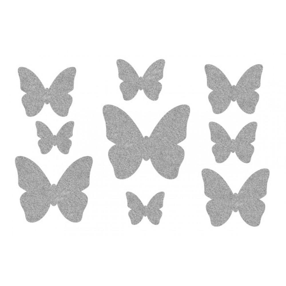 Декор з рідких шпалер Метелики  6