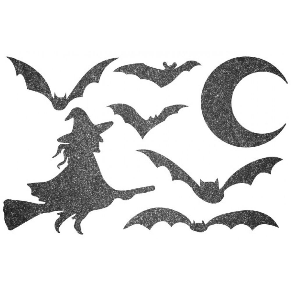 Декор з рідких шпалер Хеллоуин 4