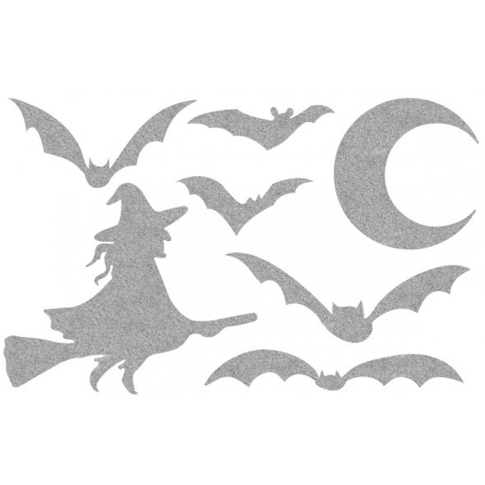 Декор з рідких шпалер Хеллоуин 6