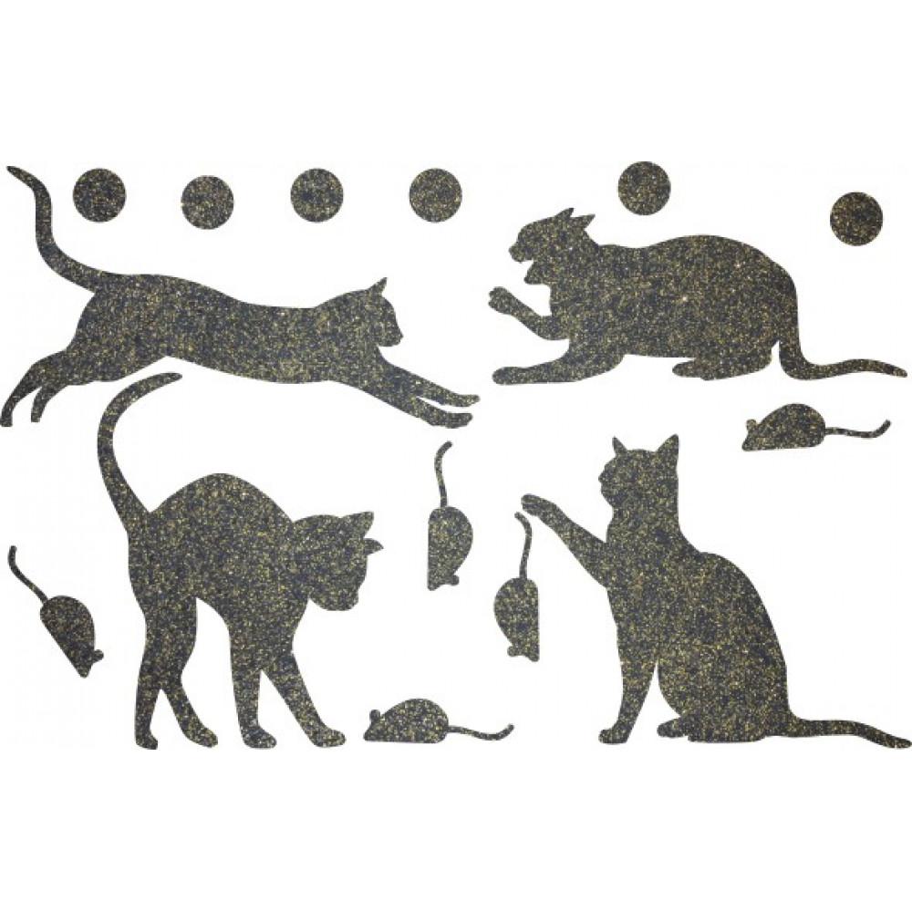 Декор з рідких шпалер Коти 3