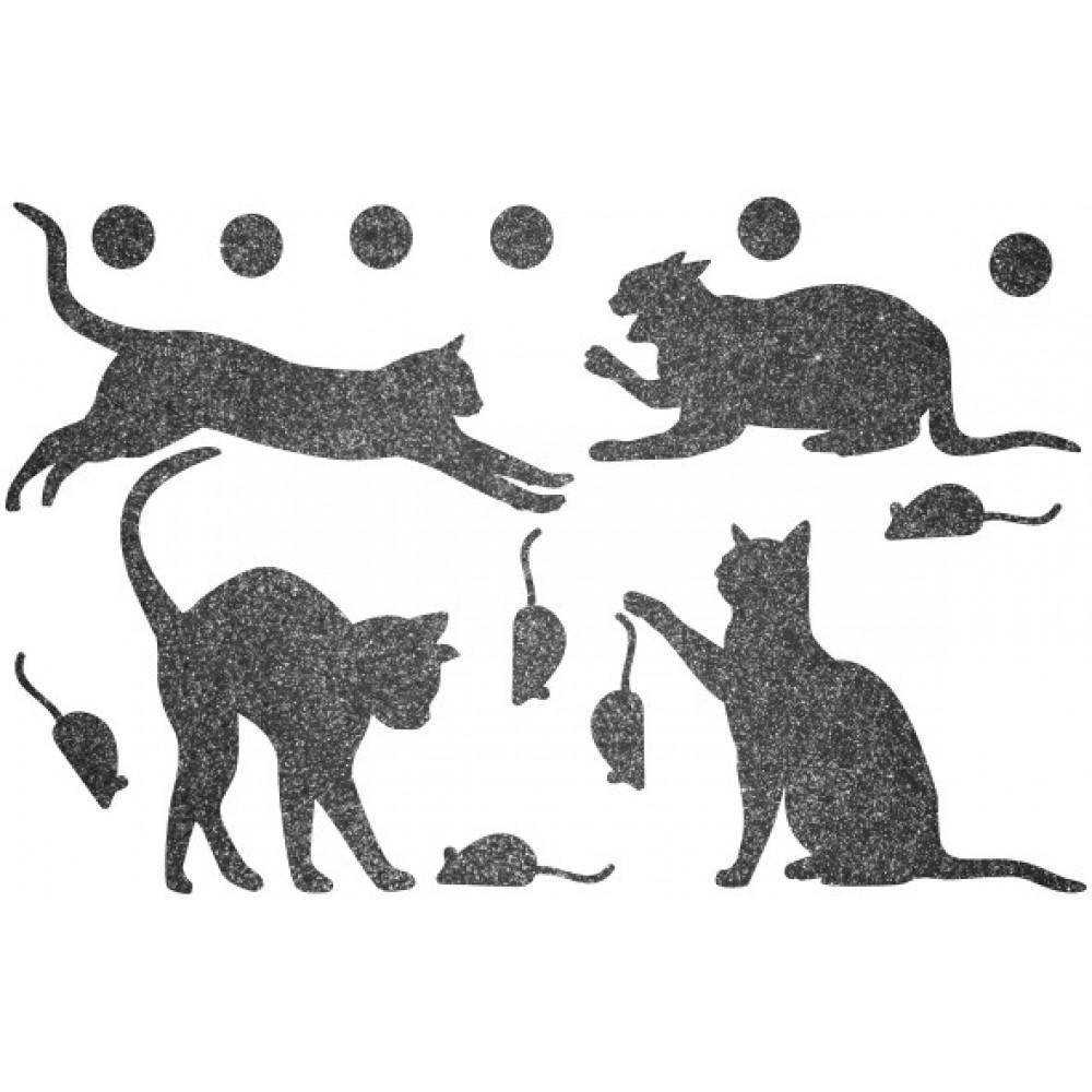 Декор з рідких шпалер Коти 4