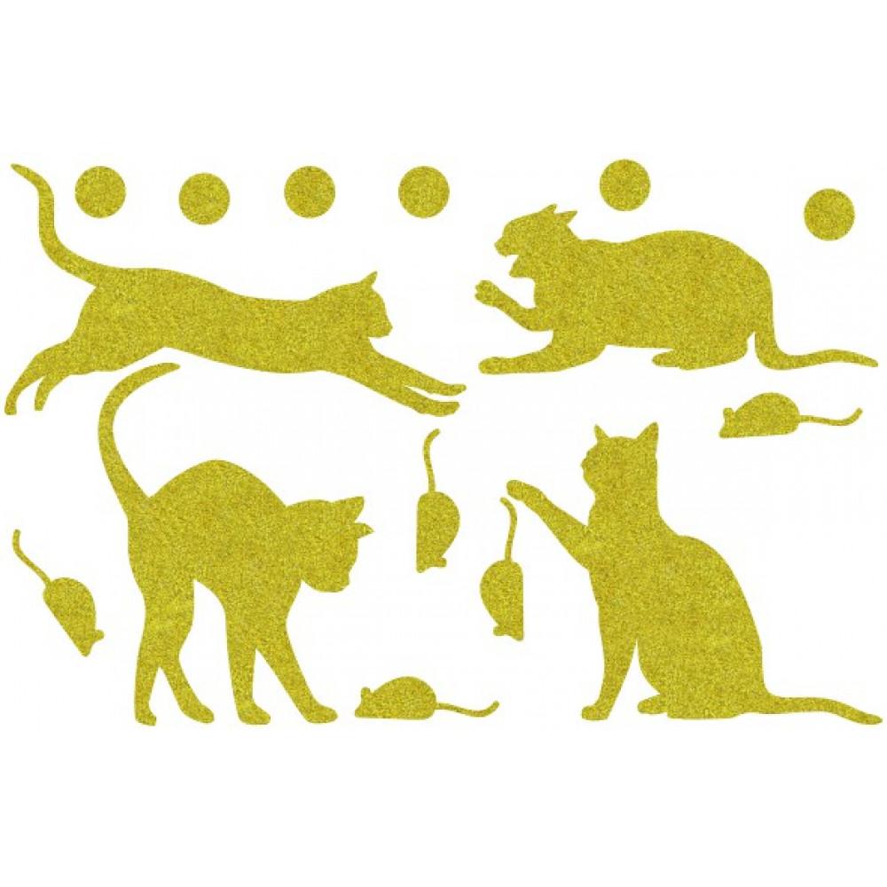 Декор з рідких шпалер Коти 5