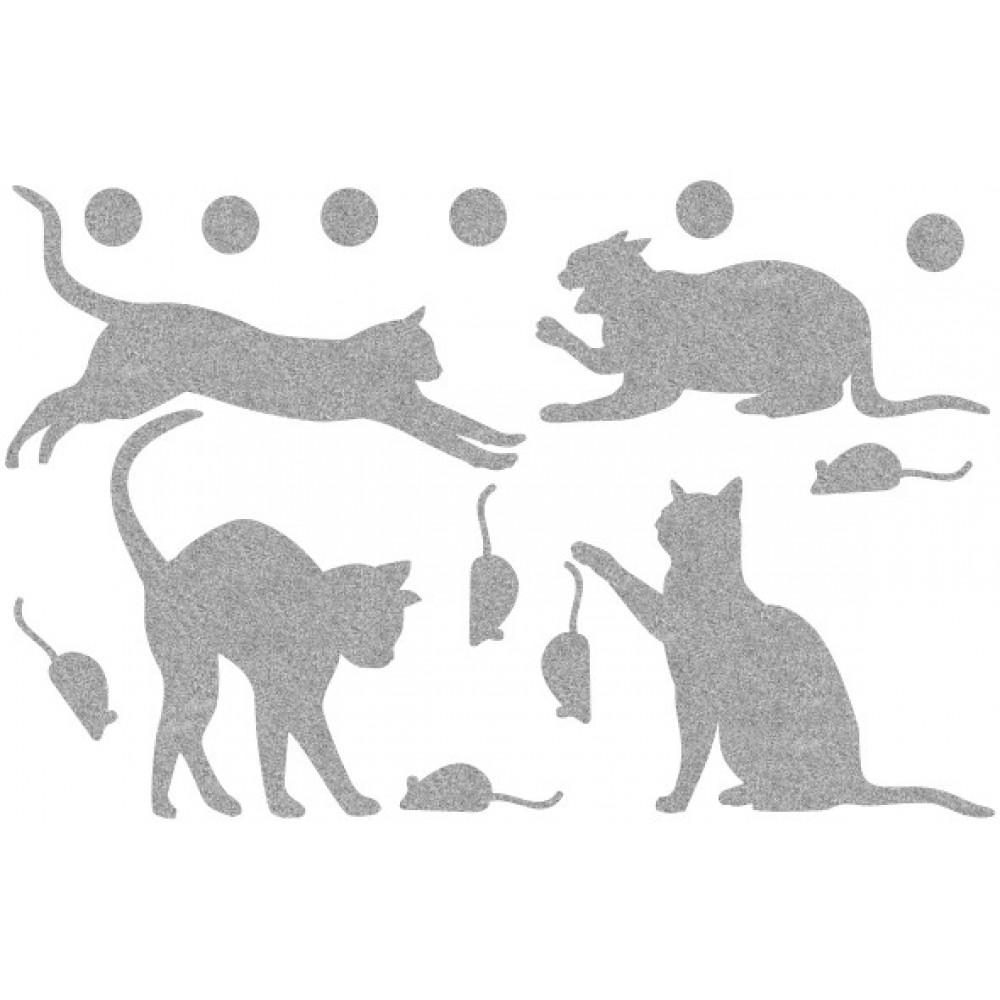 Декор з рідких шпалер Коти 6