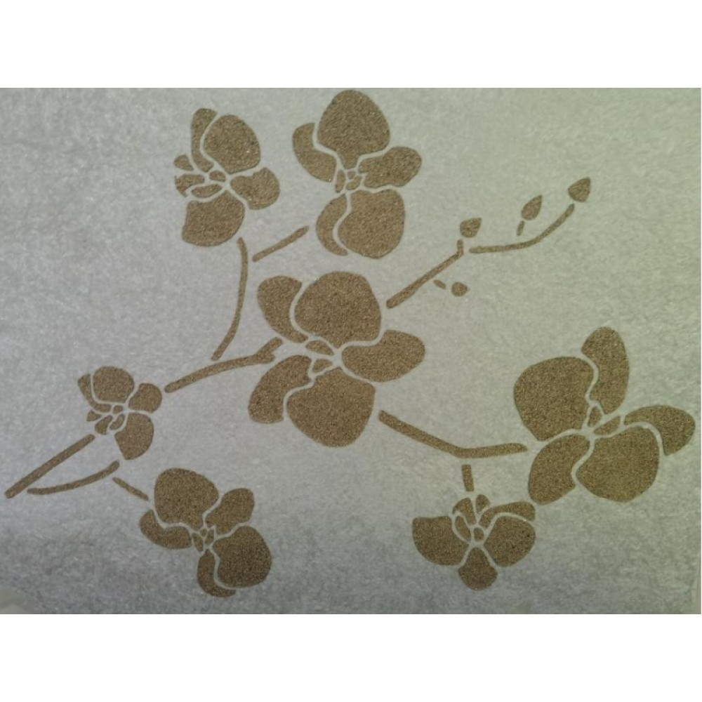 Трафарет для рідких шпалер - Сакура
