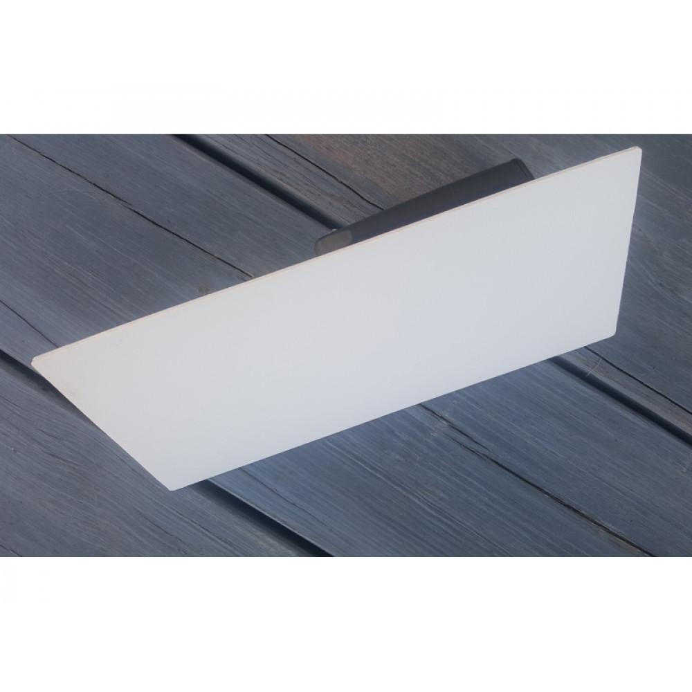 Шпатель білий 13*27см