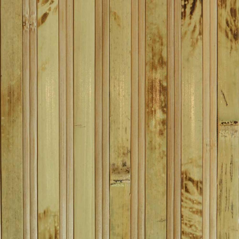 Бамбукові шпалери черепахові/темні, пропилені, нелак., полоса 12/8 мм. - 1,5 м