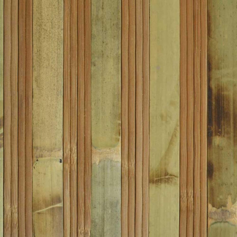 Бамбукові шпалери черепахові/темні, пропилені, нелак., полоса 17/2х8 мм. - 1,5 м