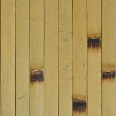 Бамбукові шпалери світлі, опалені, нелак., полоса 17 мм. - 2,0 м