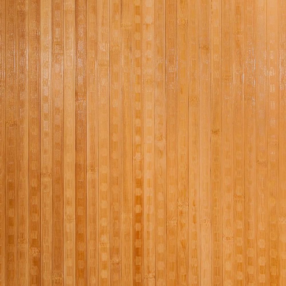 Бамбукові шпалери темні, пропилені, квадратна зірка, полоса 17 мм.- 2,5 м