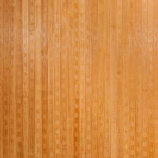 Бамбукові шпалери темні, пропилені, квадратна зірка, полоса 17 мм. - 2,0 м