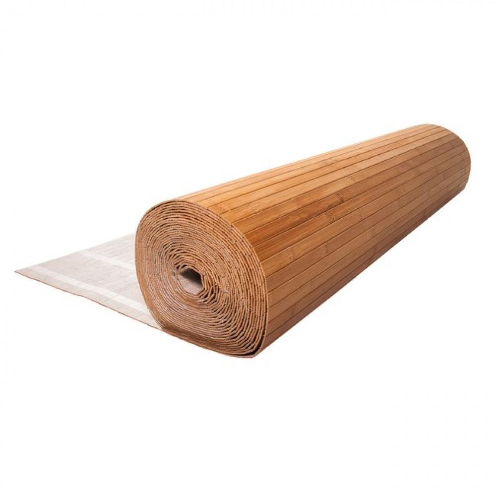 Бамбукові шпалери темні, нелак., полоса 17 мм. - 2,0 м