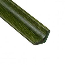 Молдинг кутовий внутрішній, зелений