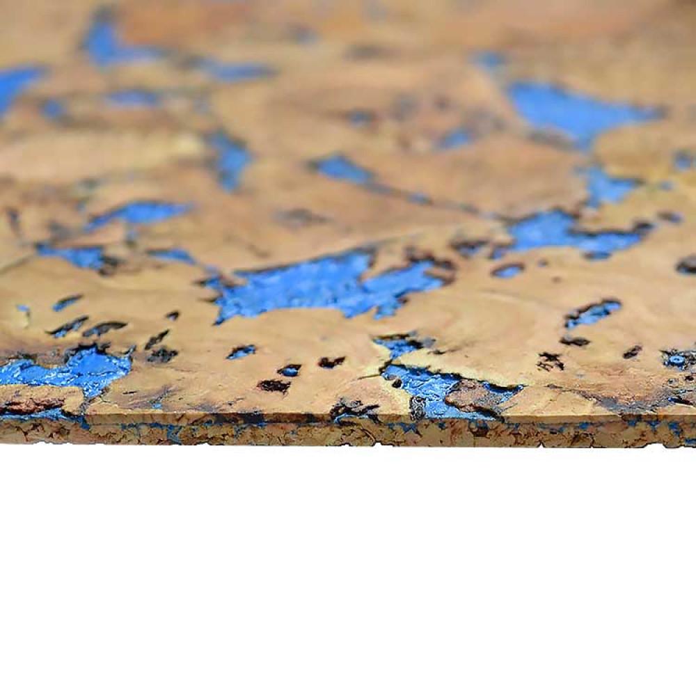 Коркові шпалери MIAMI BLUE