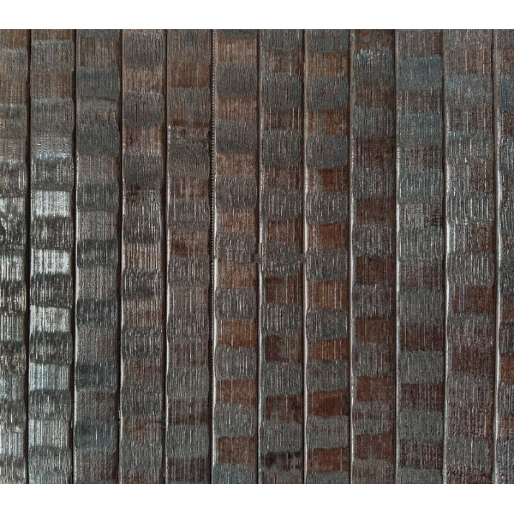 Бамбукові шпалери венге хвиля, нелак., полоса 17 мм. - 0,9 м